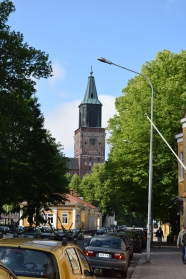 View of Turku Cathedral Spring 2016
